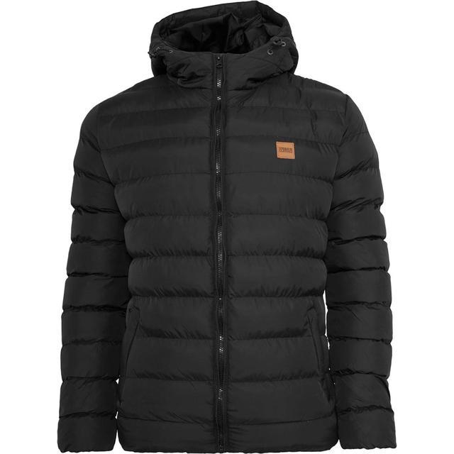 Urban Classics Basic Bubble Jacket - Blackblackblack