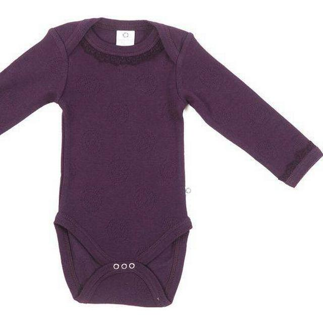 Smallstuff Body Long Sleeve Special Lace- Aubergine (818-016-099)
