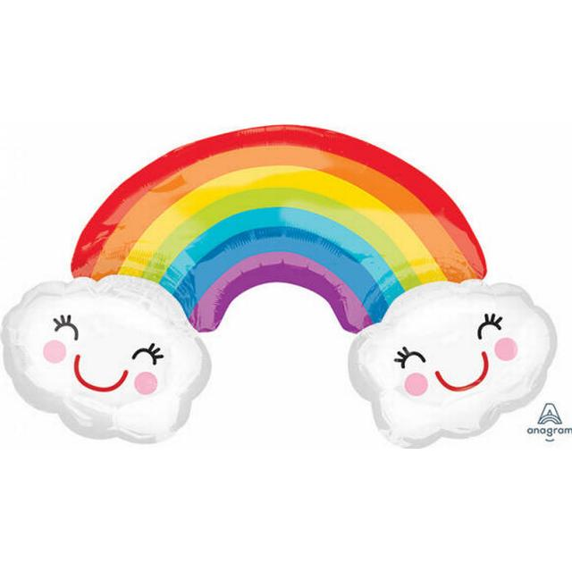 Amscan SuperShape Rainbow With Clouds (3381501)