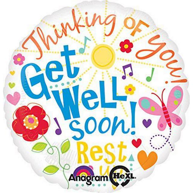 Amscan Get Well Messages (2200201)
