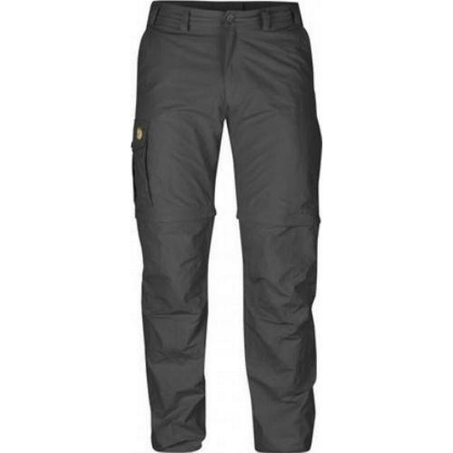 Fjällräven Karl Zip-Off Trousers - Dark Grey