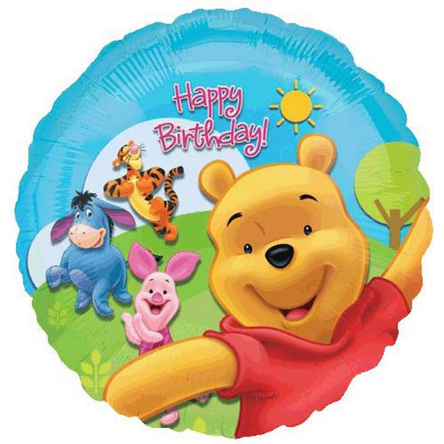 Amscan Standard Pooh & Friends Sunny Birthday (1574901)