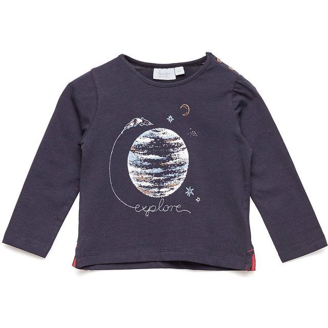 Noa Noa Miniature Long Sleeved T-Shirt - Dark Sapphire (2-5134-1)