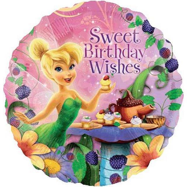 Amscan Tinker Bell Happy Birthday Standard (2655701)