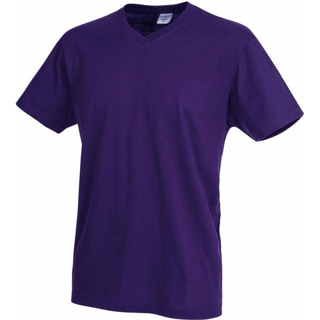 Stedman Classic V-Neck T-shirt - Deep Berry