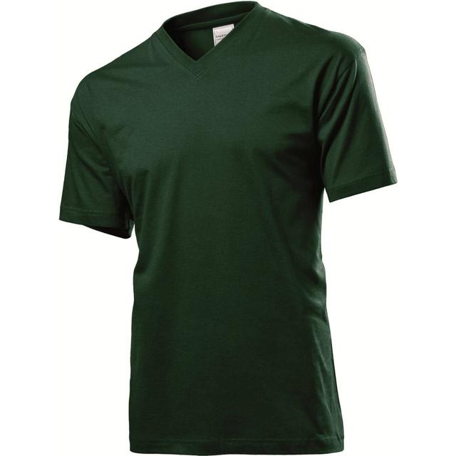 Stedman Classic V-Neck T-shirt - Bottle Green
