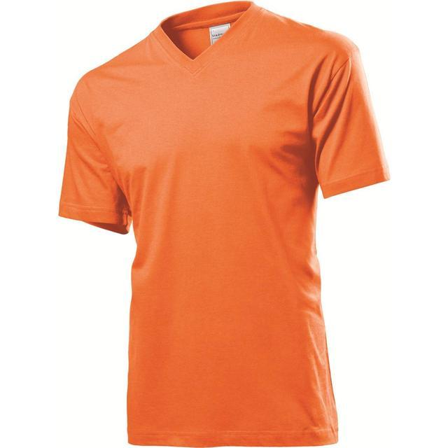 Stedman Classic V-Neck T-shirt - Orange