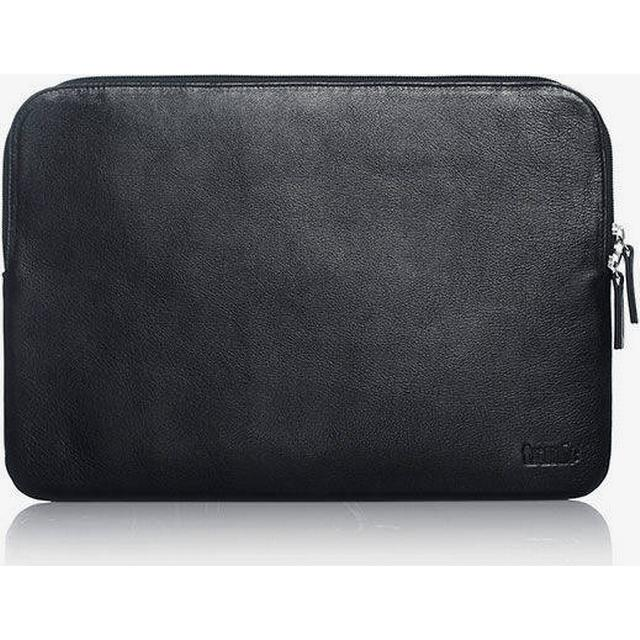 "Trunk Leather Sleeve Macbook 13"" - Black/Brown"