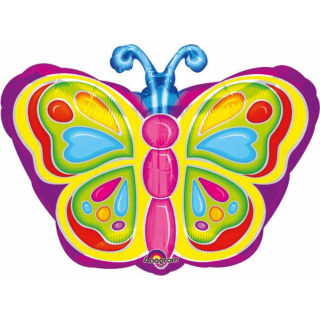 Amscan Junior Shape Bright Butterfly (0725501)