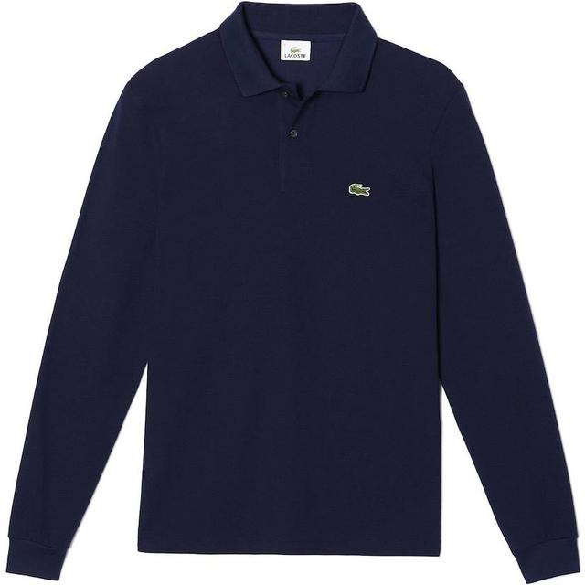 Lacoste L.12.12 Long Sleeve Polo Shirt - Navy Blue