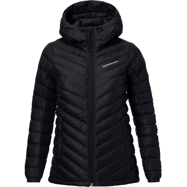 Peak Performance Pertex Frost Down Hooded Jacket - Artwork Black