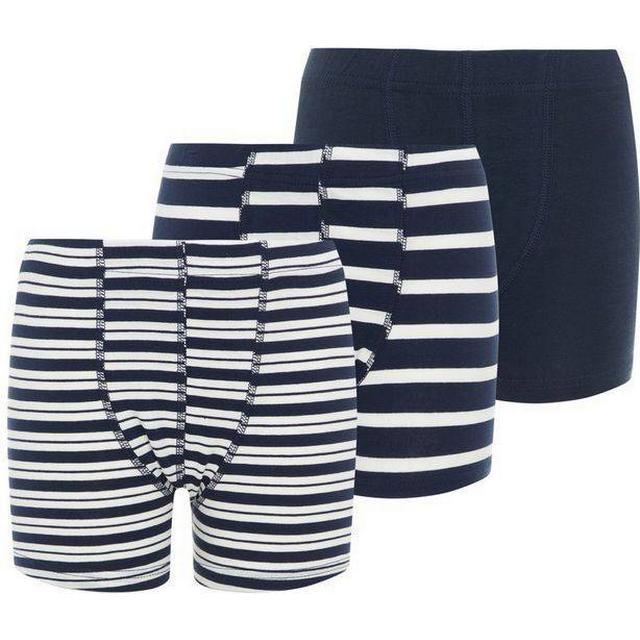 Name It Kids Boxer Shorts 3-pack - Blue/Dark Sapphire (13163608)