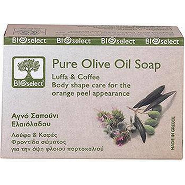 Bioselect Pure Olive Oil Soap with Luffa & Coffee 80g