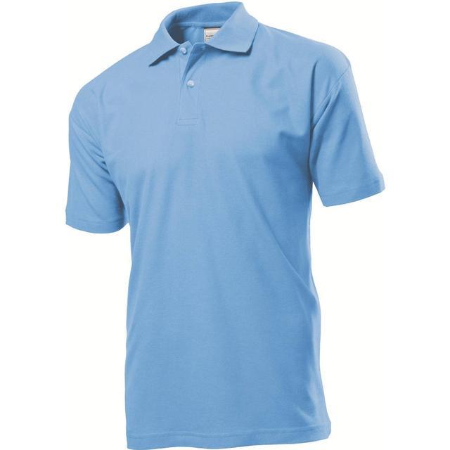 Stedman Short Sleeve Polo Shirt - Light Blue