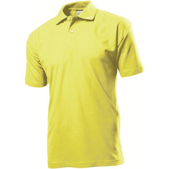 Stedman Short Sleeve Polo Shirt - Yellow