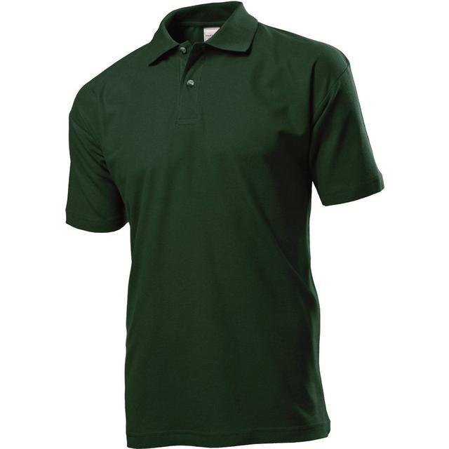 Stedman Short Sleeve Polo Shirt - Bottle Green