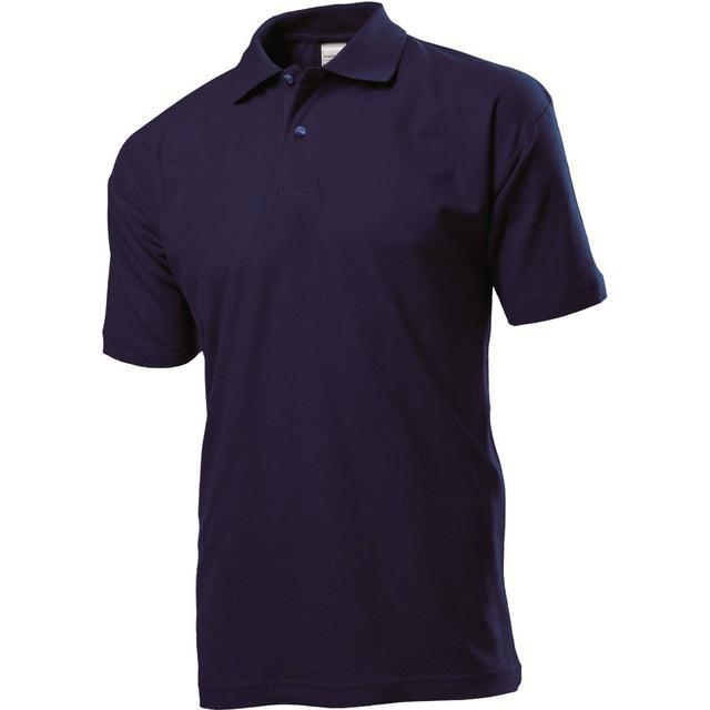 Stedman Short Sleeve Polo Shirt - Blue Midnight