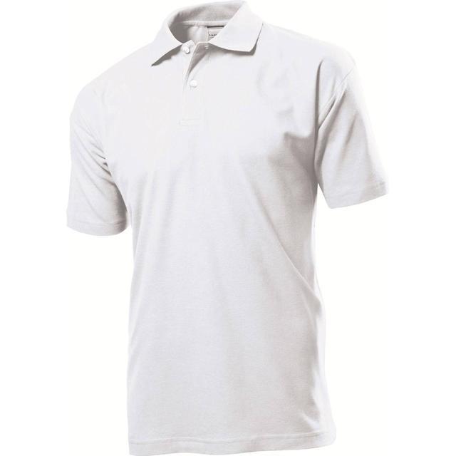 Stedman Short Sleeve Polo Shirt - White