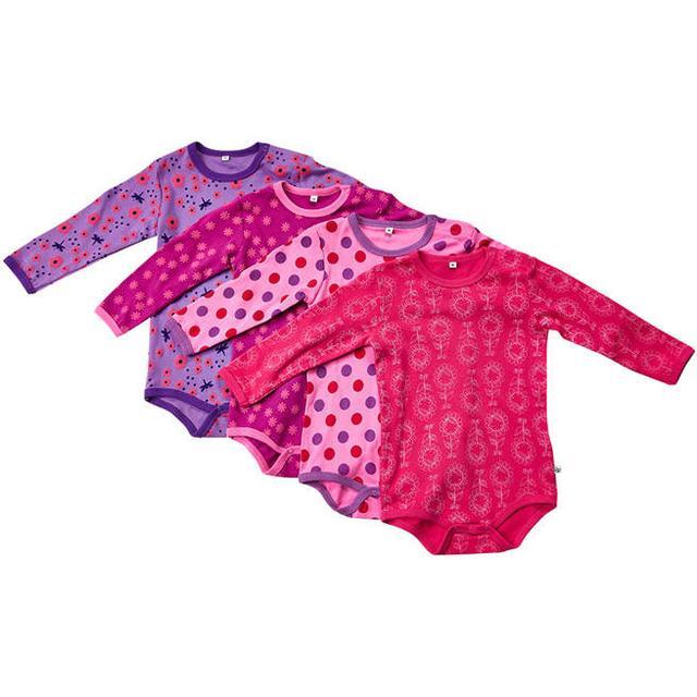 Pippi Bodystocking 4-pak - Pink (3819-569)