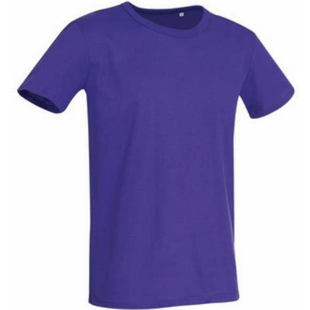 Stedman Ben Crew Neck T-shirts - Deep Lilac