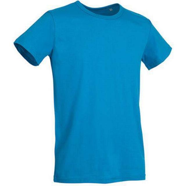 Stedman Ben Crew Neck T-shirts - Hawaii Blue
