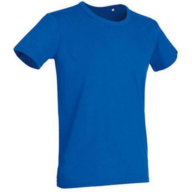 Stedman Ben Crew Neck T-shirts - King Blue