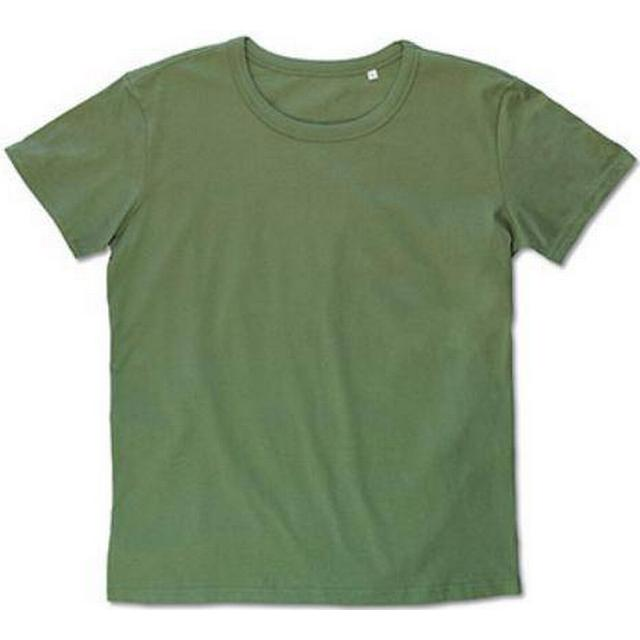 Stedman Ben Crew Neck T-shirts - Military Green
