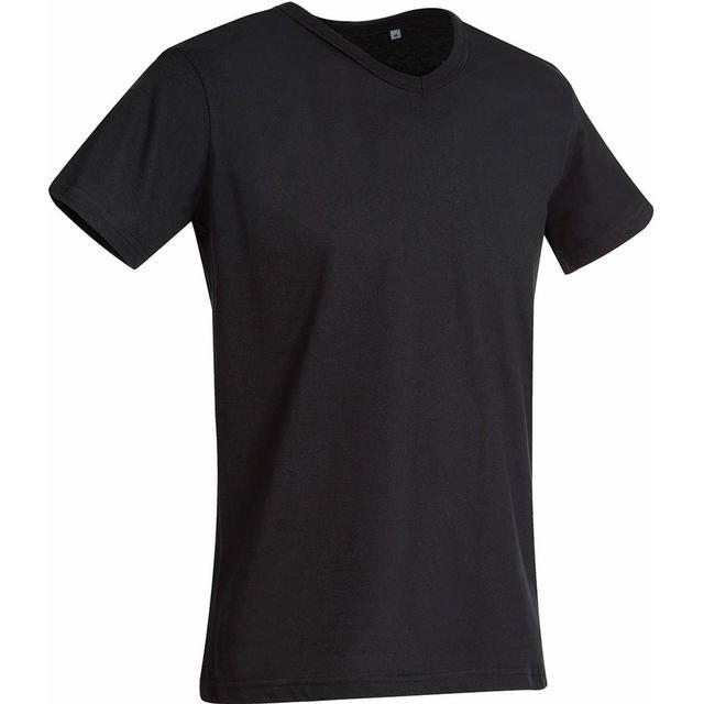 Stedman Ben V Neck T-shirt - Black Opal
