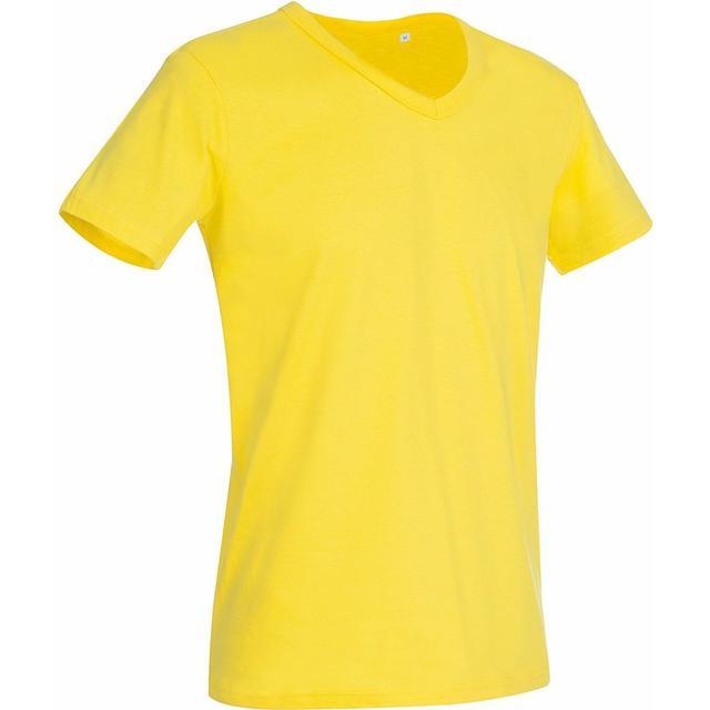 Stedman Ben V Neck T-shirt - Daisy Yellow