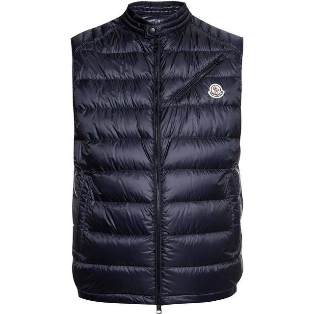 Moncler Arv Down Vest - Dark Blue