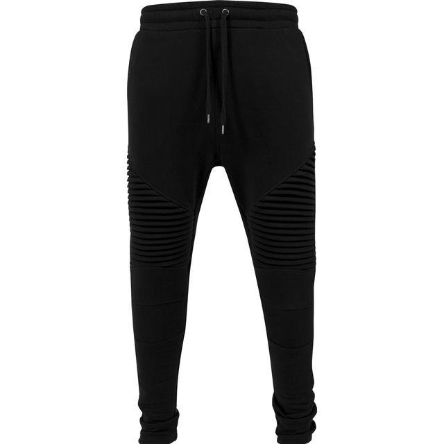 Urban Classics Pleat Sweatpants - Black