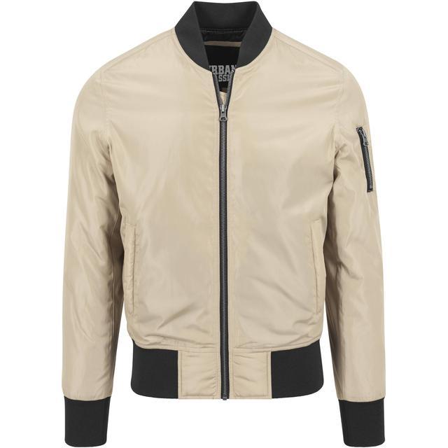 Urban Classics 2-Tone Bomber Jacket - Gold/Black