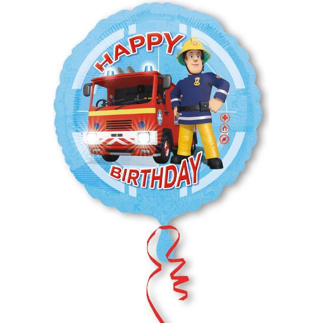 Amscan Standard Fireman Sam Happy Birthday (3013201)