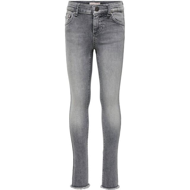 Only Blush Skinny Fit Jeans - Grey/Grey Denim (15173843)