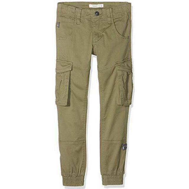 Name It Kid's Cargo Pants - Green/Deep Lichen Green (13151735)