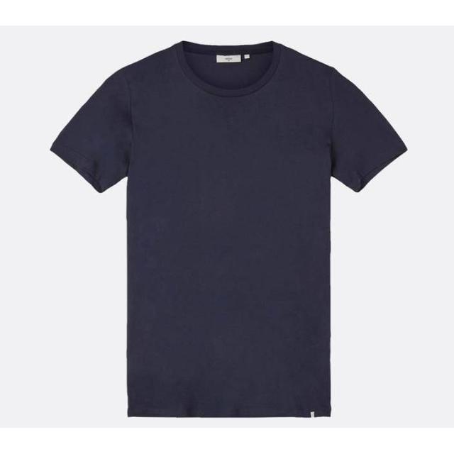 Minimum Luka Short Sleeved T-shirt - Navy Blazer
