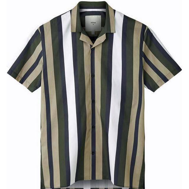 Minimum Emanuel Short Sleeved Shirt - Navy Blazer