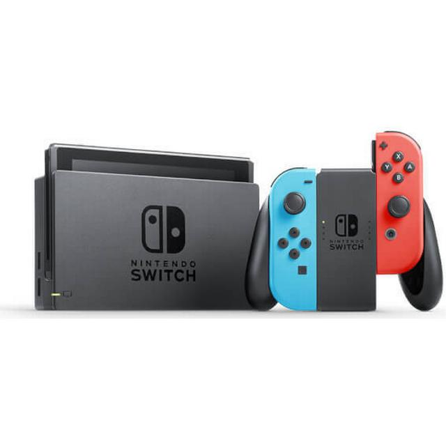 Nintendo Switch - Red/Blue - 2019