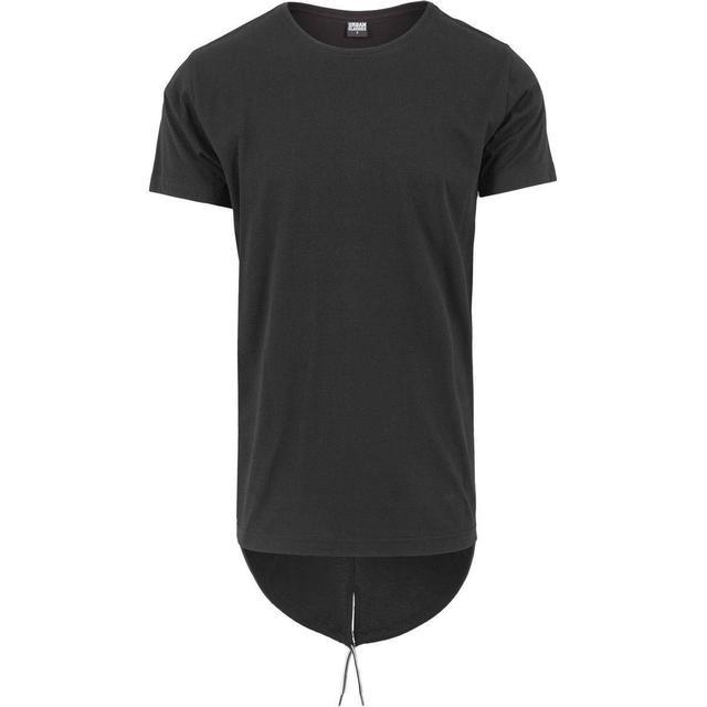 Urban Classics Long Tail Tee - Black/Black