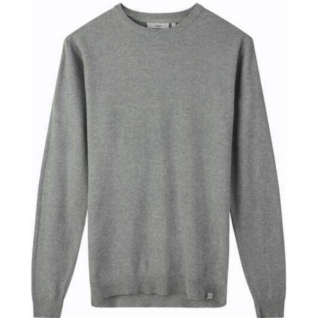 Minimum Curth Jumper - Light Grey Melange