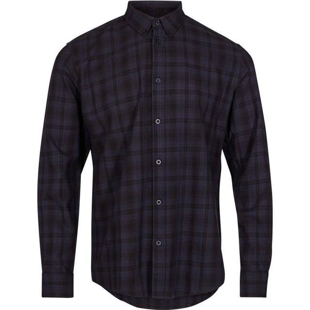 Minimum Walther Long Sleeved Shirt - Navy Blazer