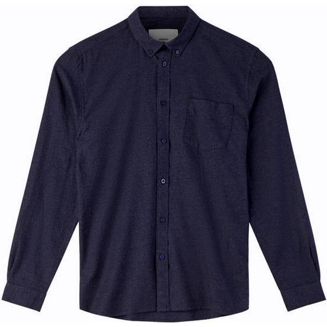Minimum Jay 2.0 Long Sleeved Shirt - Navy Blazer Mel