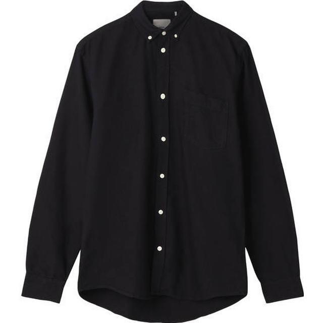 Minimum Jay 2.0 Long Sleeved Shirt - Black