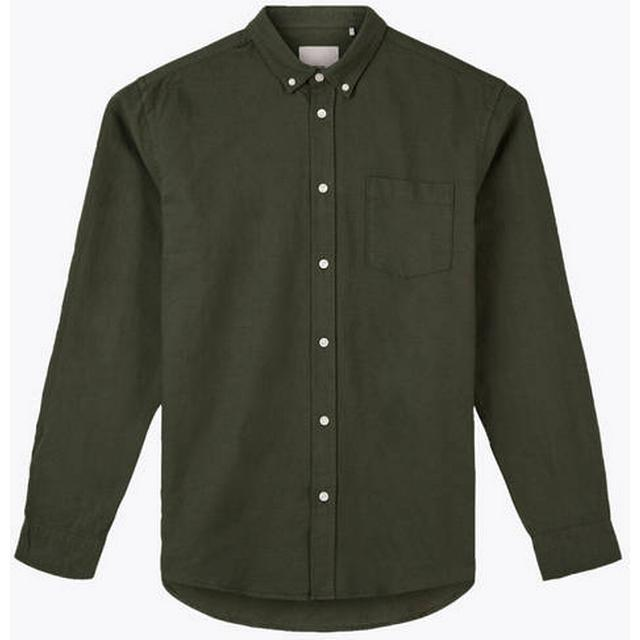 Minimum Jay 2.0 Long Sleeved Shirt - Drab