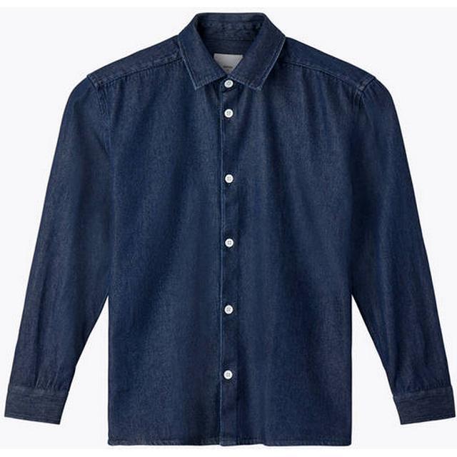 Minimum Lenny Long Sleeved Shirt - Dark Blue
