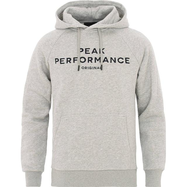 Peak Performance Original Hoodie - With Gray Mel