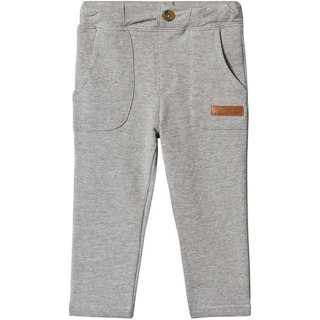 Name It Mini Sweat Pants - Grey/Grey Melange (13159494)
