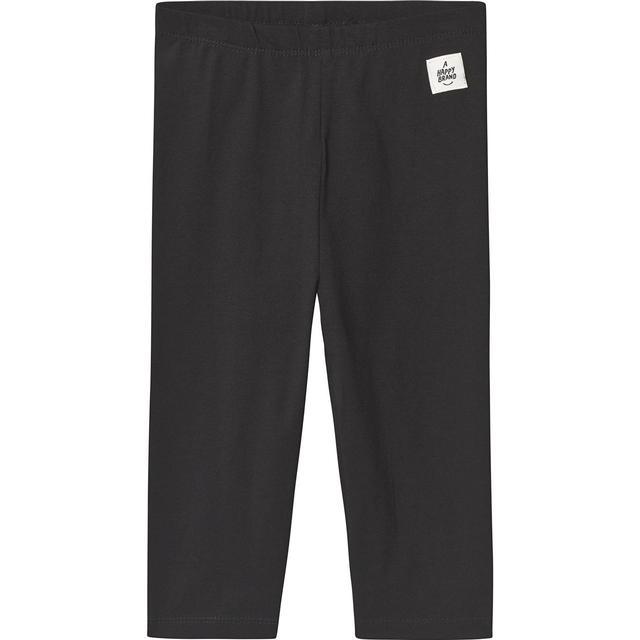A Happy Brand Capri Leggings - Sort (372602)