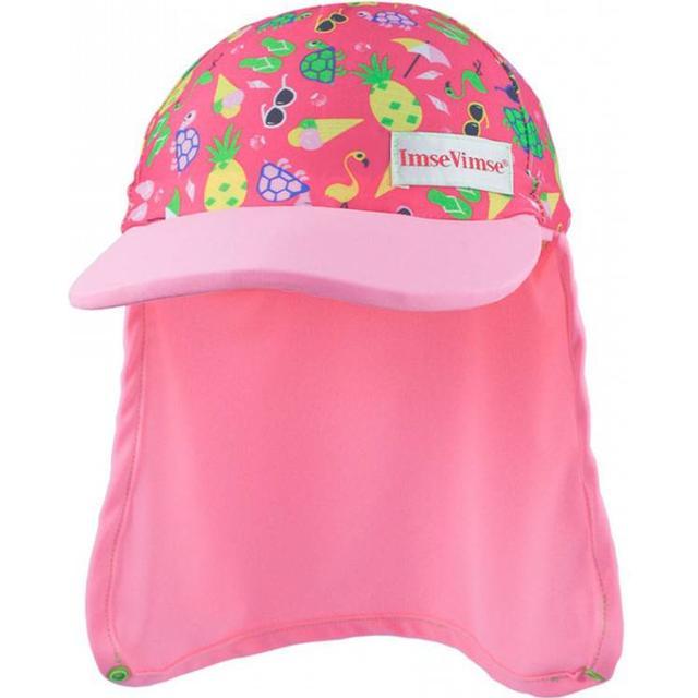 Imsevimse Swim & Sun Hat - Pink Beach Life
