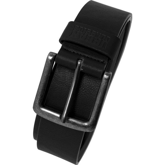 Urban Classics Leather Imitation Belt - Black